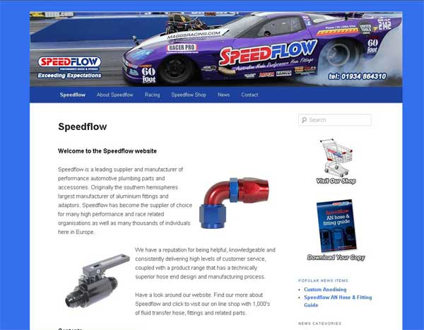 new speedflow website